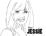 Dibujo de Jessie primer plano para colorear