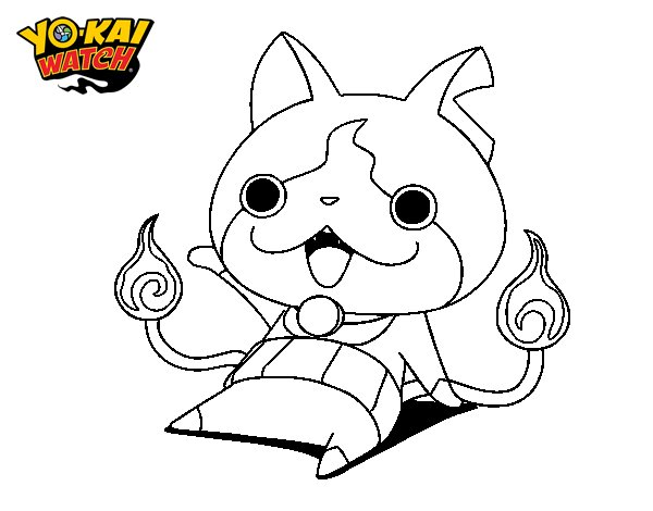 Yo Kai Watch Dibujos Para Colorear