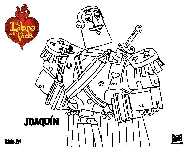 Dibujo de Joaquín para Colorear
