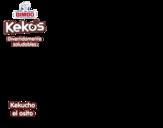Dibujo de Kekucho el osito para colorear