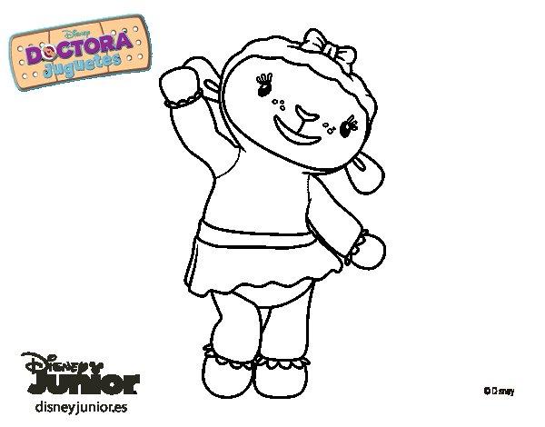 Dibujo de La doctora juguetes - Lanitas para Colorear ...