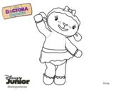 Dibujo de La doctora juguetes - Lanitas para colorear