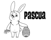Dibujo de La Pascua para colorear
