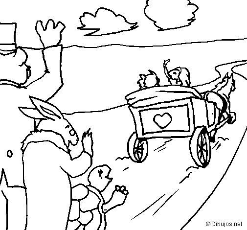 Dibujo de La ratita presumida 18 para Colorear