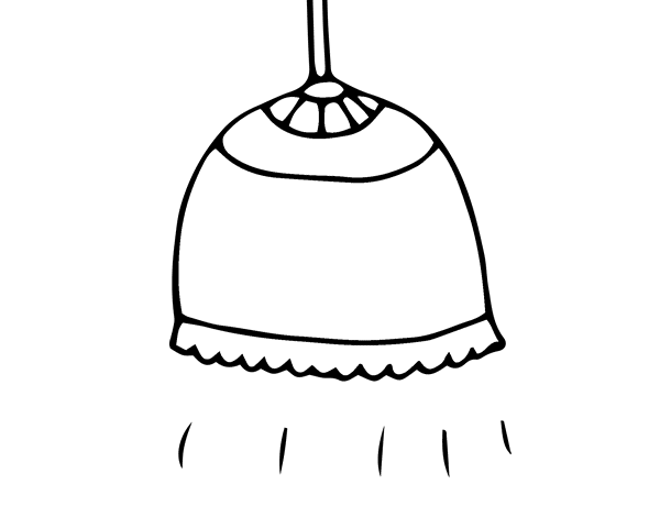 Dibujo de l mpara para colorear - Pintar lamparas de techo ...