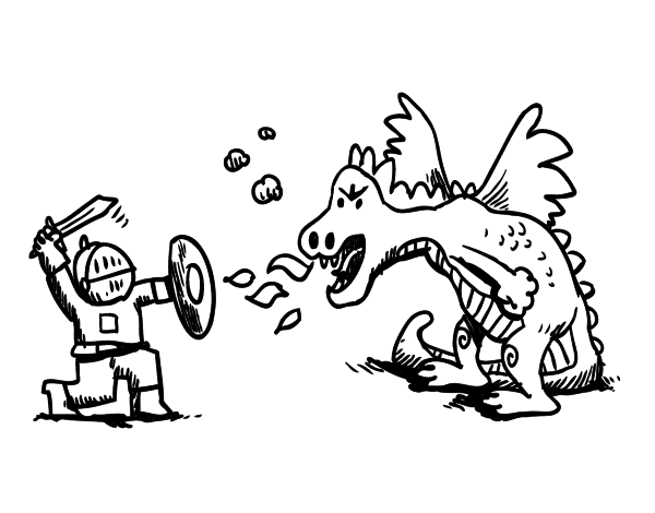 Worksheet. Dibujo de Leyenda de San Jorge para Colorear  Dibujosnet