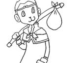 Dibujo de Leyenda goku