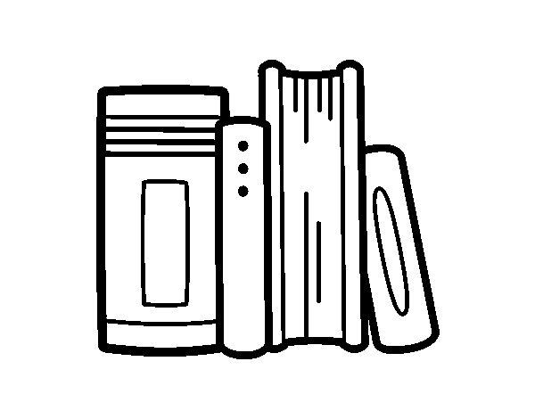 Dibujos De Libros Para Colorear - Unifeed.club