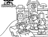Dibujo de Little People 14 para colorear