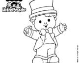 Dibujo de Little People 18 para colorear