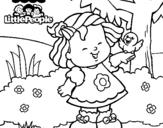 Dibujo de Little People 2 para colorear