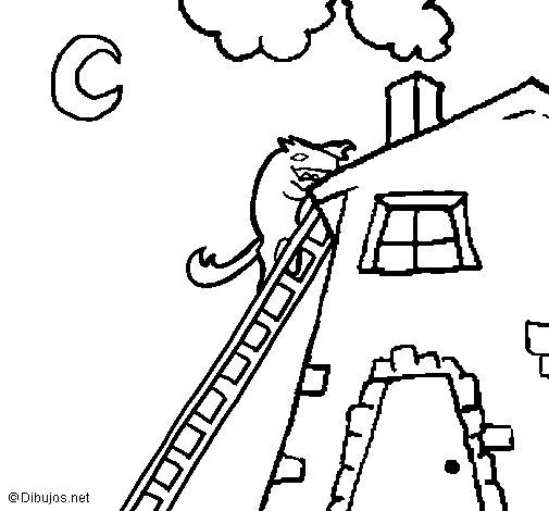 Dibujo de Los tres cerditos 16 para Colorear