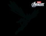 Dibujo de Los Vengadores - Avispa para colorear