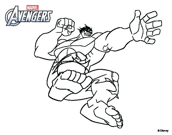 Dibujo De Los Vengadores