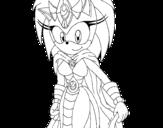 Dibujo de Madre de Sonic para colorear