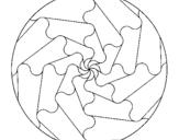 Dibujo de Mandala 17 para colorear