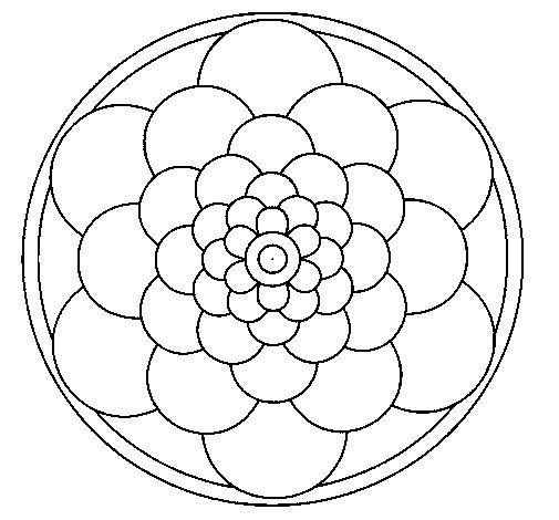 Dibujo de Mandala 22 para Colorear