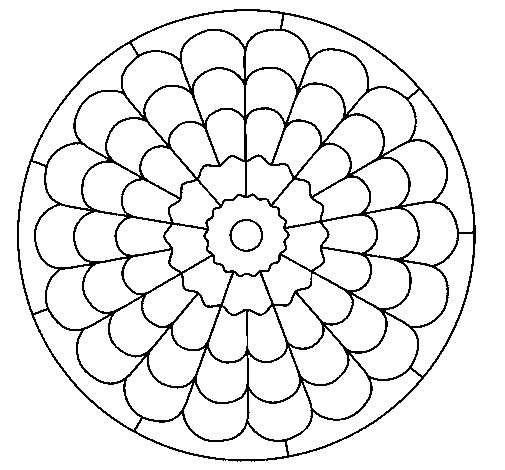 Dibujo de Mandala 23 para Colorear