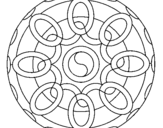 Dibujo de Mandala 26 para colorear