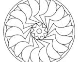Dibujo de Mandala 27 para colorear