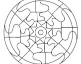 Dibujo de Mandala 31 para colorear