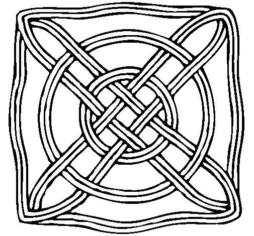 Dibujo de Mandala 40 para Colorear