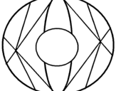 Dibujo de Mandala II para colorear