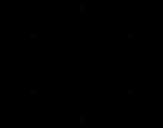 Dibujo de Mandala simétrica para colorear