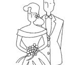 Dibujo de Marido y mujer II para colorear