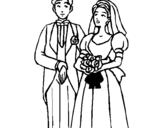 Dibujo de Marido y mujer III para colorear