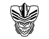 Dibujo de Máscara de hombre mosca para colorear