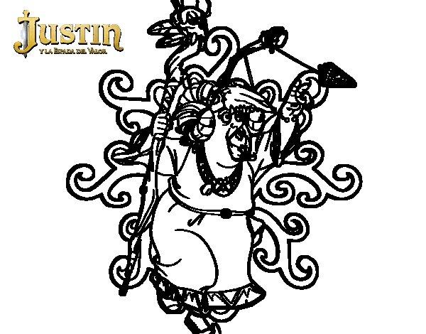 Dibujo de Melquiades para Colorear
