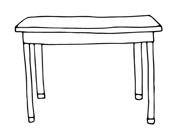 table top coloring pages - photo #5