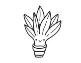 Dibujo de Mini aloe vera