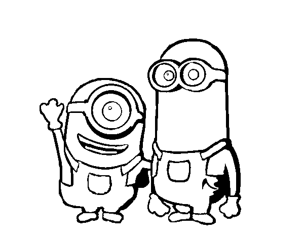 Minions Para Colorear Images  Reverse Search