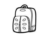 Dibujo de Mochila deportiva para colorear