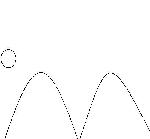 Dibujo de Montañas para Colorear