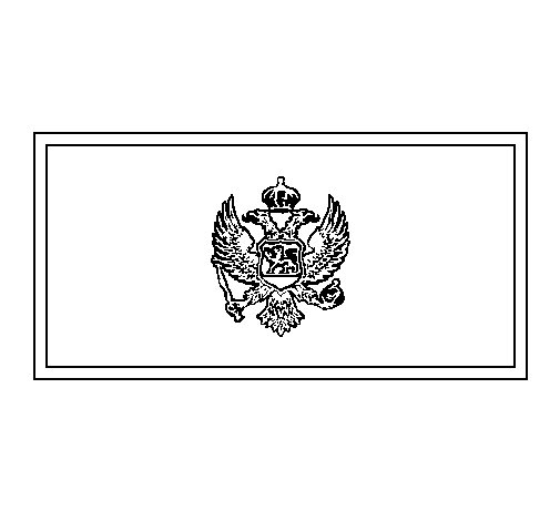 Dibujo de Montenegro para Colorear