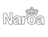 Dibujo de Naroa para colorear