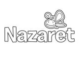 Dibujo de Nazaret para colorear