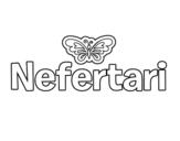 Dibujo de Nefertari para colorear