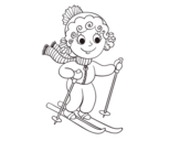 Dibujos de Esquí