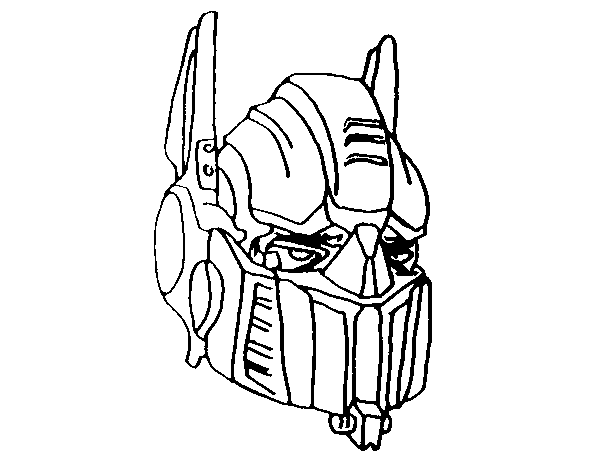 Dibujo de optimus prime para colorear - Optimus prime dessin ...