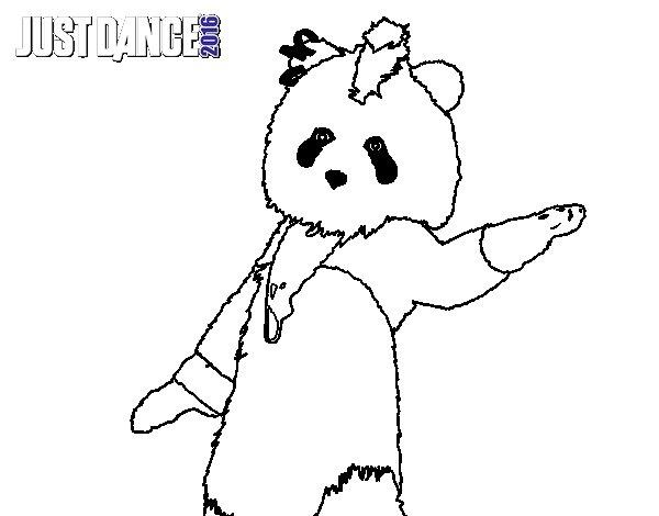 Dibujos Del Oso Panda. Dibujos Animados Oso Panda Hipster Ropa Moda ...