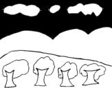 Dibujo de Paisaje 2
