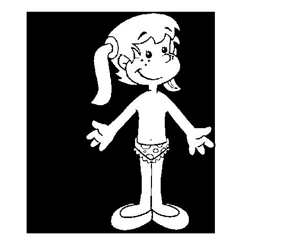 Dibujo de Partes del cuerpo para Colorear