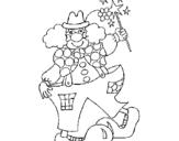 Dibujo de Payaso 1 para colorear