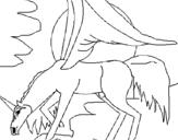 Dibujo de Pegaso 3