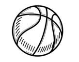 Dibujo de Pelota de baloncesto