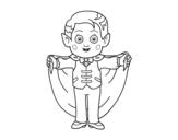 Dibujo de Pequeño vampiro